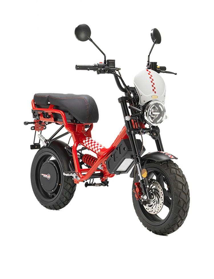 Moto électrique 2 places Cyclone...
